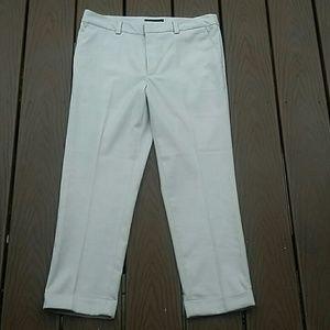 Banana Republic cropped & cuffed pants